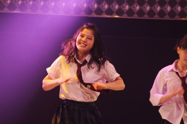 初主演映画でダンスを披露し「E-girlsの時より緊張しました」と語った石井杏奈