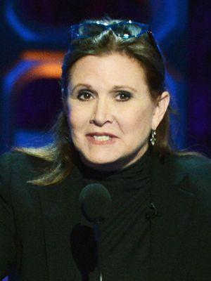 レイア姫としての出演が決定したキャリー・フィッシャー