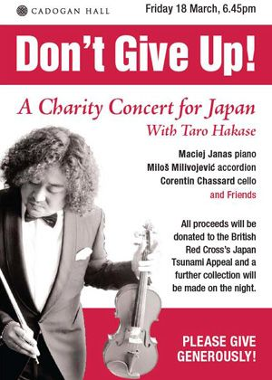 A Charity Concert for Japan With Taro Hakase