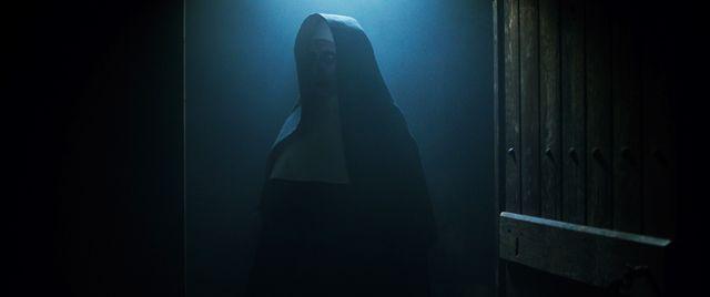 もうちょっと明るいところに出てくれないかな……『死霊館のシスター』より