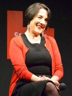 初来日したチリのベテラン女優パウリーナ・ガルシア