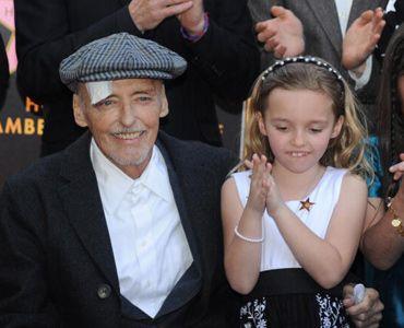 デニス・ホッパーさんと娘のギャレンちゃん