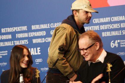 退場するシャイア・ラブーフと笑うしかないステイシー・マーティン&ステラン・スカルスガルド
