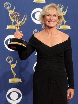 2年連続でエミー賞ドラマ部門、主演女優賞を獲得した、「ダメージ」のグレン・クローズ
