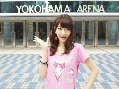 AKB48グループ初! 横浜アリーナで単独ライブを行うことになった柏木由紀