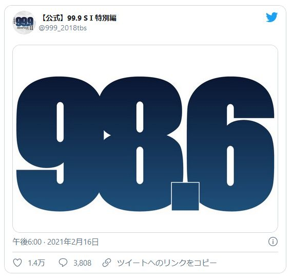 映画 99.9