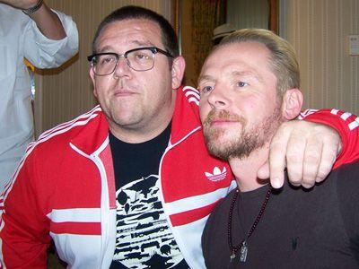 ニック・フロスト(左)、サイモン・ペッグ