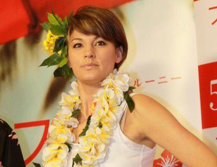 西島秀俊が好きすぎて反省した梅宮アンナ(写真は2012年撮影)
