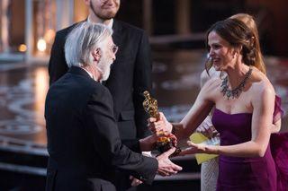 ミヒャエル・ハネケ監督は、外国語映画賞を受賞-Darren Decker / (C) A.M.P.A.S.