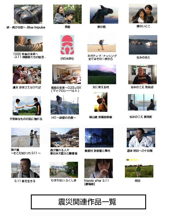 震災関連映画