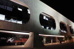 ブラジリアの美術館