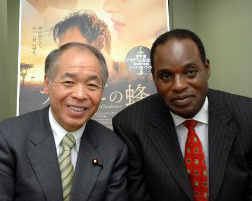 『ナイロビの蜂』鈴木宗男、ムルアカ氏 単独インタビュー