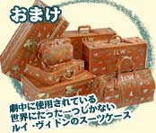 おまけ 劇中に使用されている世界にたった一つしかないルイ・ヴィトンのスーツケース