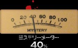 ミステリーメーター 40%