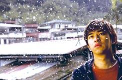 『台北に舞う雪』