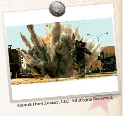 『ハート・ロッカー』©2008 Hurt Locker, LLC. All Rights Reserved.