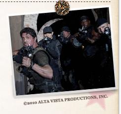 『エクスペンダブルズ』©2010 ALTA VISTA PRODUCTIONS, INC.