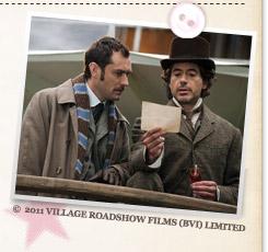『シャーロック・ホームズ シャドウ ゲーム』©2011 VILLAGE ROADSHOW FILMS (BVI) LIMITED