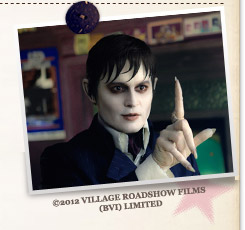 『ダーク・シャドウ』©2012 VILLAGE ROADSHOW FILMS (BVI) LIMITED