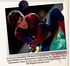 『アメイジング・スパイダーマン』©2012 Columbia Pictures Industries, Inc. MARVEL, and all Marvel characters including the Spider-Man character (tm) & (C) 2012 Marvel Characters, Inc. All Rights Reserved.