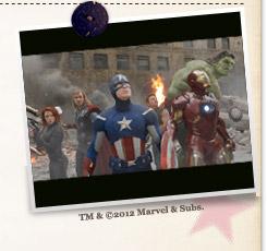 『アベンジャーズ』TM &©2012 Marvel & Subs.