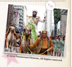 『ディクテーター 身元不明でニューヨーク』© 2012 Paramount Pictures, All Rights reserved.