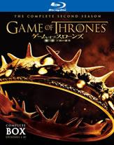 「ゲーム・オブ・スローンズ 第二章:王国の激突」Blu-ray