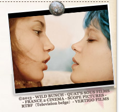 『アデル、ブルーは熱い色』©2013 - WILD BUNCH - QUAT'S SOUS FILMS - FRANCE 2 CINEMA - SCOPE PICTURES - RTBF(Television belge)- VERTIGO FILMS