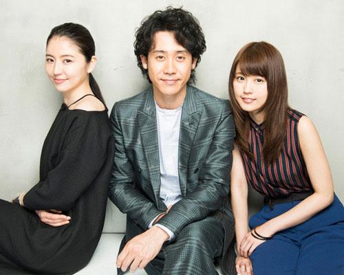 『アイアムアヒーロー』大泉洋&有村架純&長澤まさみ 単独インタビュー
