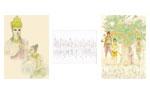 映画『手塚治虫のブッダ 赤い砂漠よ!美しく』漫画家・岡野玲子イメージアートポストカード