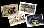 映画『カミハテ商店』『カミハテ商店』イメージ画ポストカード 4枚セット