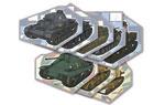 映画『ガールズ&パンツァー これが本当のアンツィオ戦です!』戦車コースター8枚セット