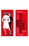 映画『彼は秘密の女ともだち』フランス版ポスターデザインチケットファイル