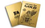 映画『ONE PIECE FILM GOLD』尾田栄一郎描き下ろし設定画入り  金の金太郎ルフィクリアファイル