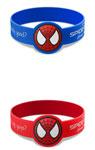 映画『スパイダーマン:ホームカミング』シリコンバンド(赤色または青色※色はお選びいただけません)