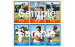 """映画『エブリバディ・ウォンツ・サム!! 世界はボクらの手の中に』1980年南東テキサス州立大学野球部""""野球カード"""""""