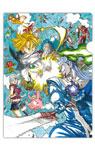 映画『劇場版 七つの大罪 天空の囚われ人』鈴木央描き下ろしキービジュアルA4クリアファイル